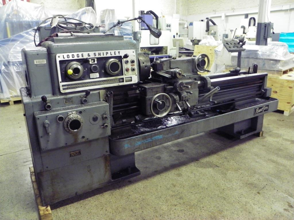 "18"" x 54"" LODGE & SHIPLEY Model 1610 Powerturn Engine Lathe, S/N 45529, New 1963."