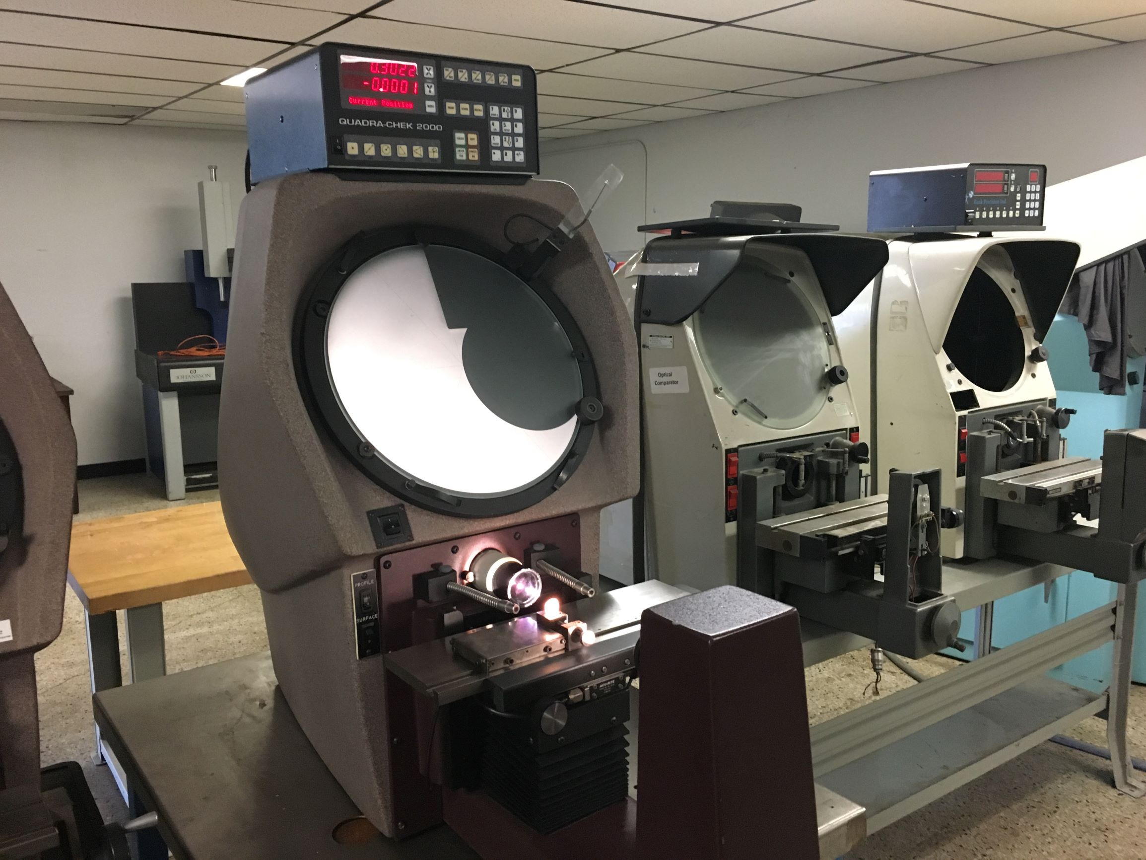"14"" Scherr-Tumico / S-T Industries Model 20-3500 Bench Top Optical Comparator, S/N R951315, New 1995."