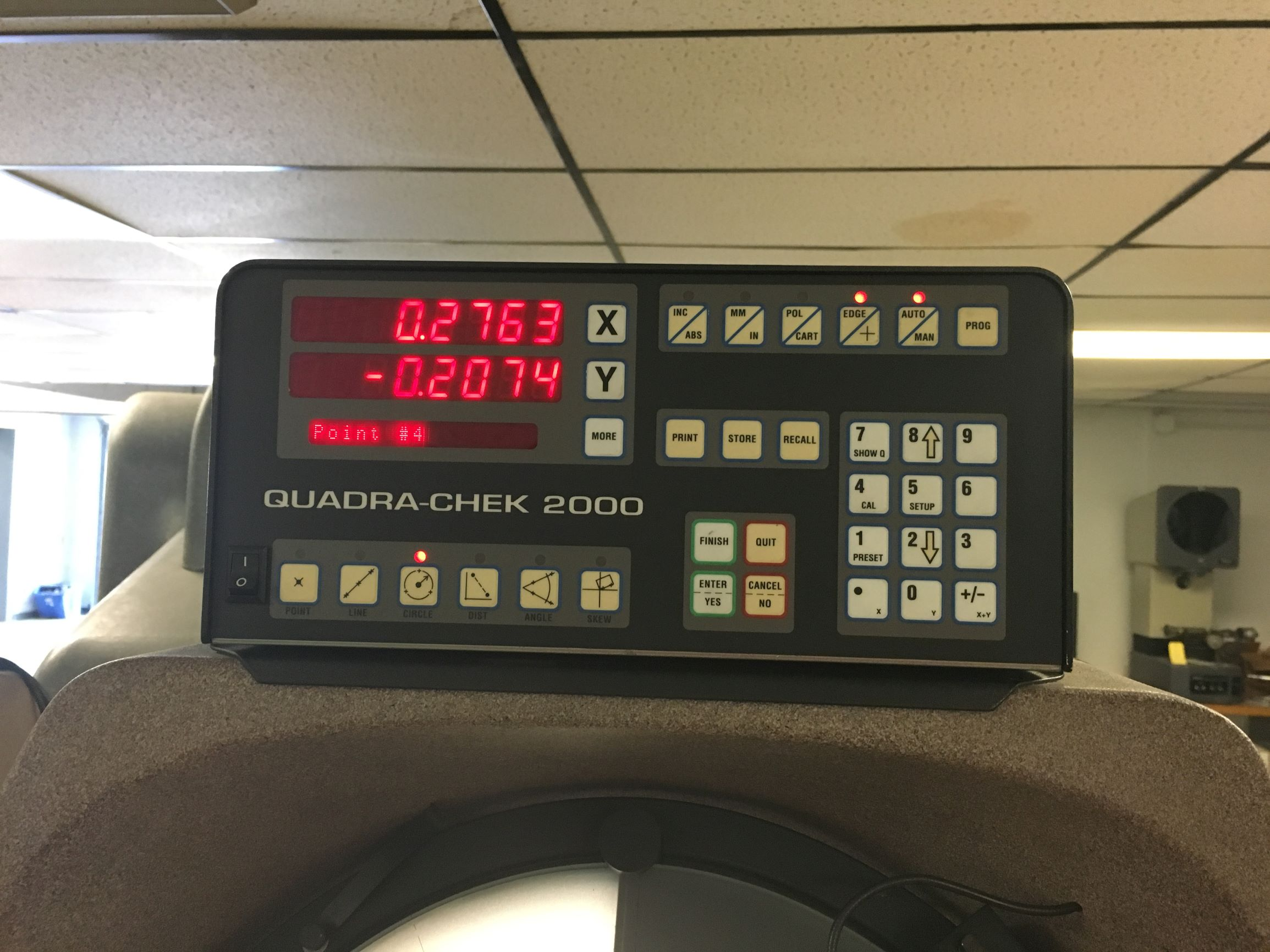 """14"""" Scherr-Tumico / S-T Industries Model 20-3500 Bench Top Optical Comparator, S/N R951315, New 1995."""