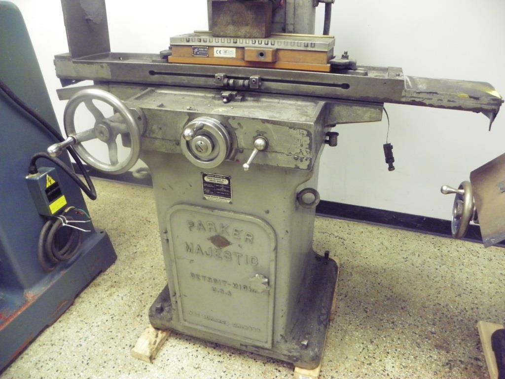 Parker-Majestic No. 2 Manual Surface Grinder, SN 1213-SC-60, New 1960.