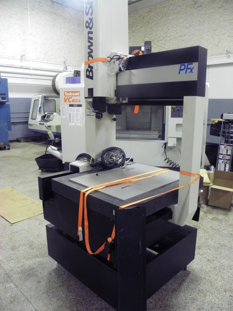 Brown & Sharpe B&S MicroXcel PFx 765 Coordinate Measuring Machine / CMM, S/N 0397-3215.