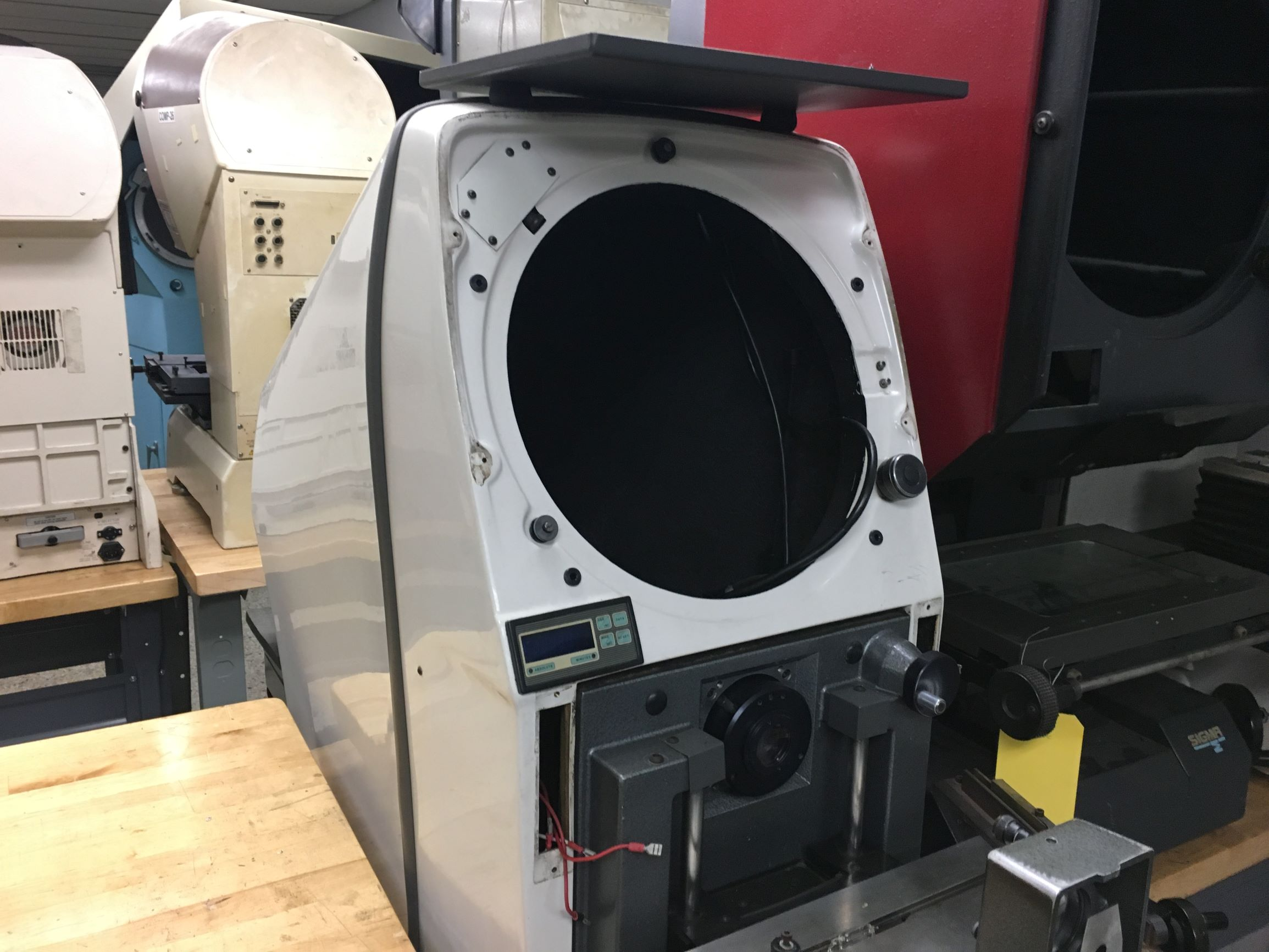 Gagemaster Model 29/GM5 Bench Top Optical Comparator, S/N 1445381287, New Approx 1988. (Availability Pending)