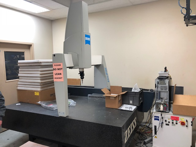 Zeiss CMM Eclipse 4084-2024 Coordinate Measuring Machine, Serial #960602878, New 1996.