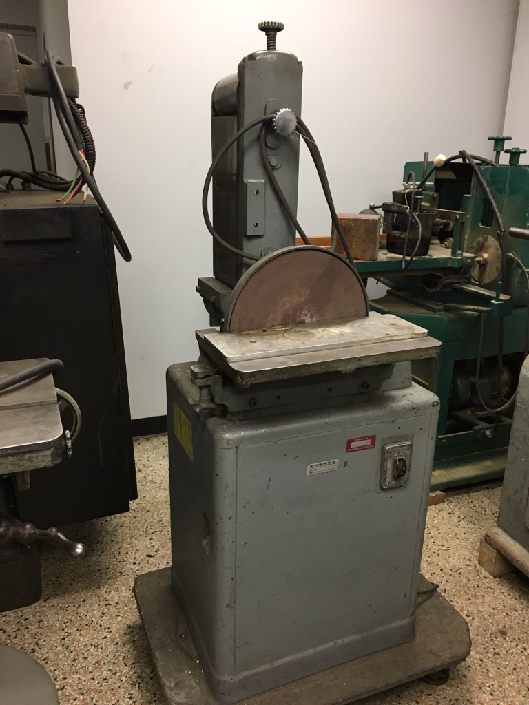 Combination Belt / Disc Sander, Make unknown. Powermatic (?). Offered as is.