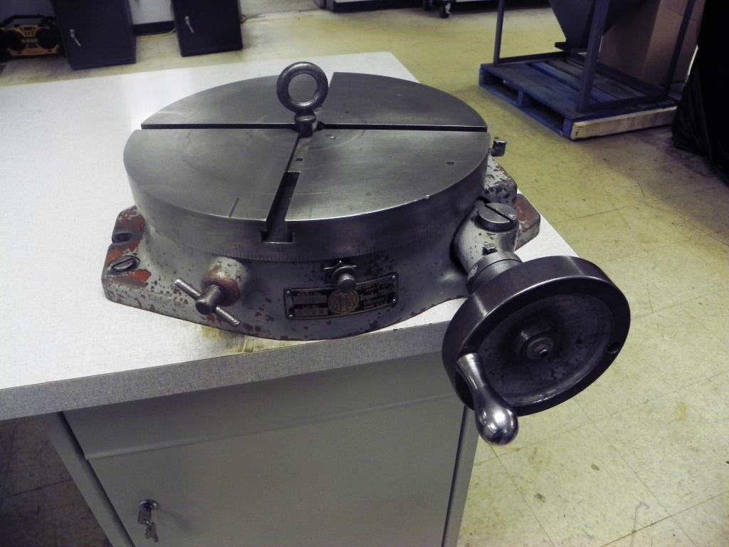 "15"" Troyke Model BH15 Rotary Table"