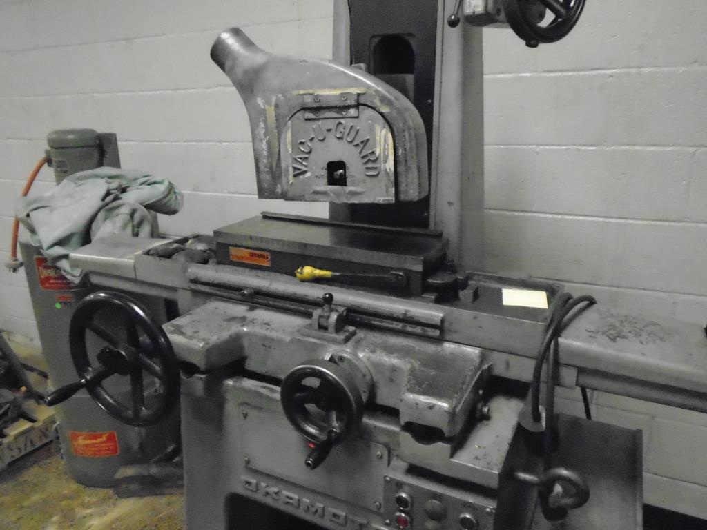 Okamoto 6 x 18 Model PFG-450 Manual Hand Feed Surface Grinder