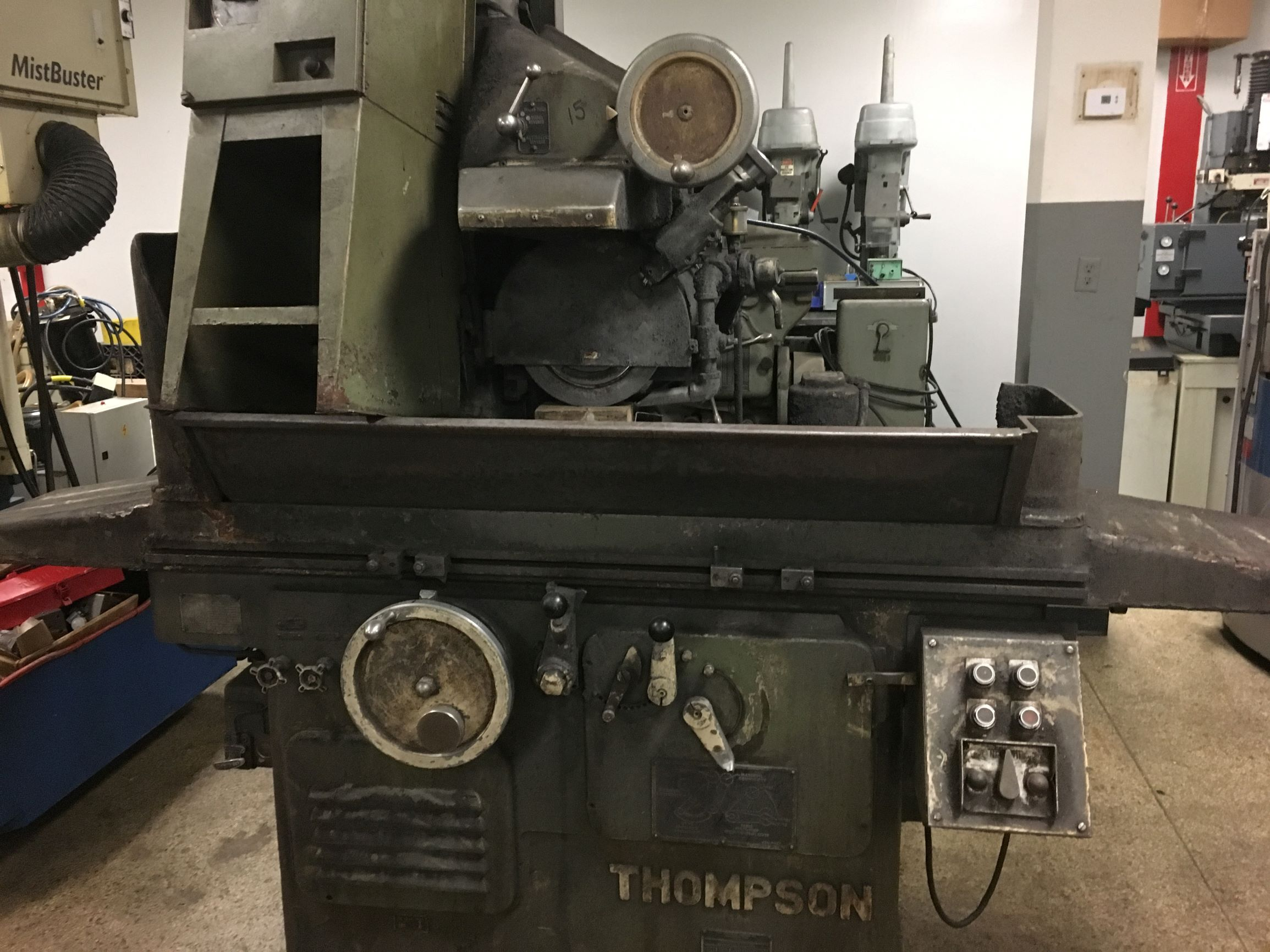 "Thompson 8"" x 24"" Hydraulic Surface Grinder"