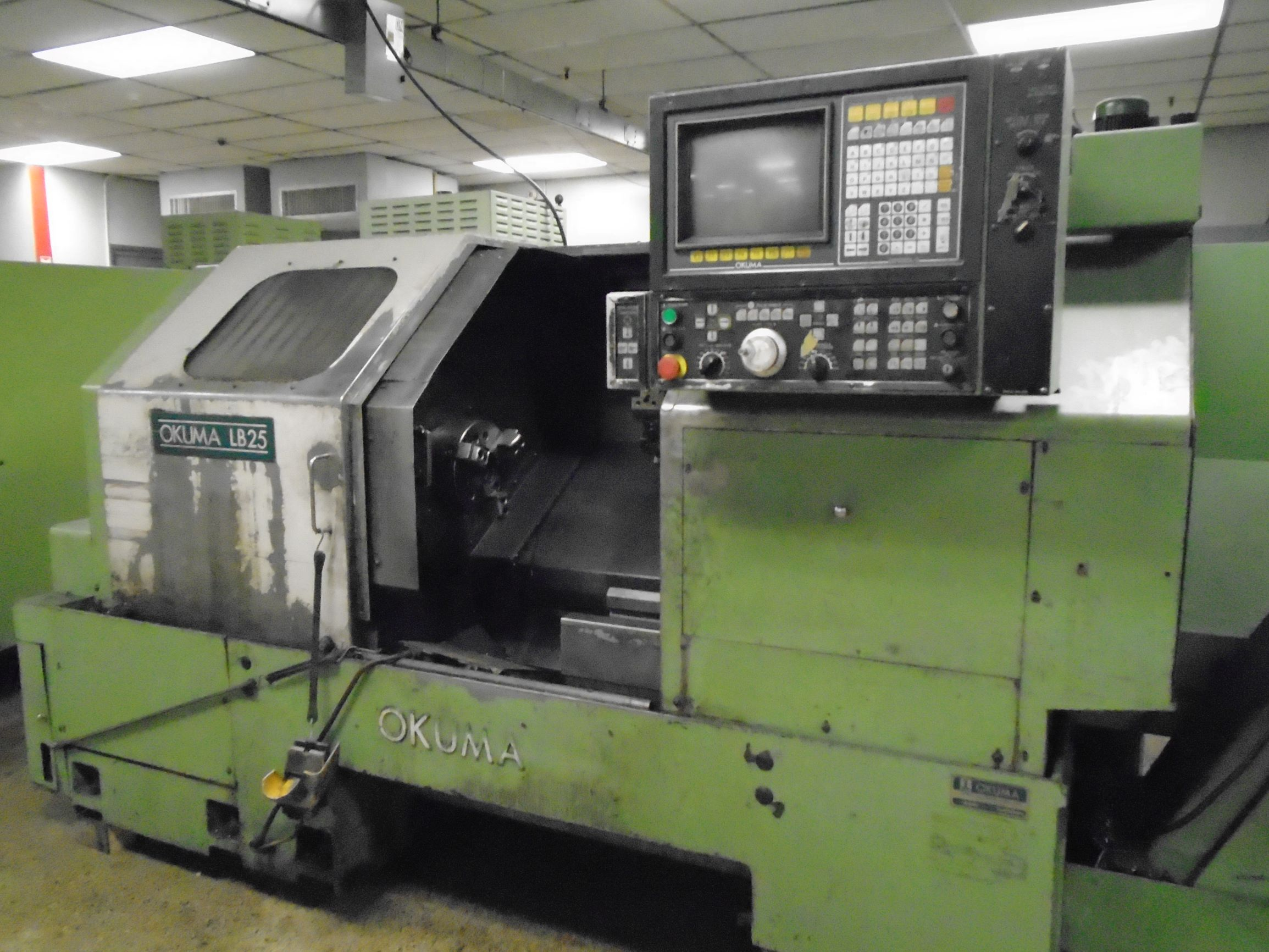 Okuma LB25 Turning Center, S/N 0089, New Approx 1990.