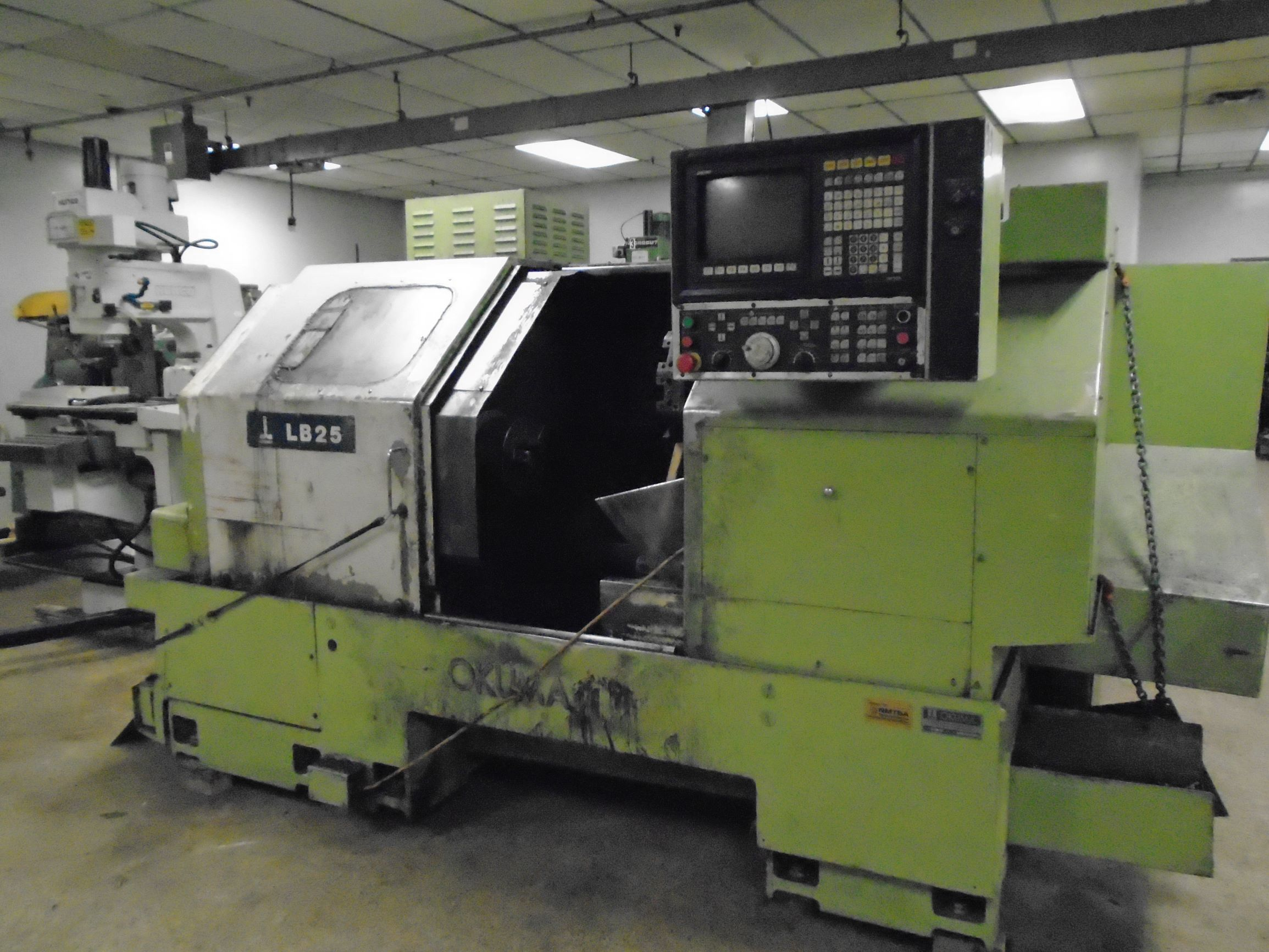 Okuma LB25 Turning Center, S/N 9287, New 1992.