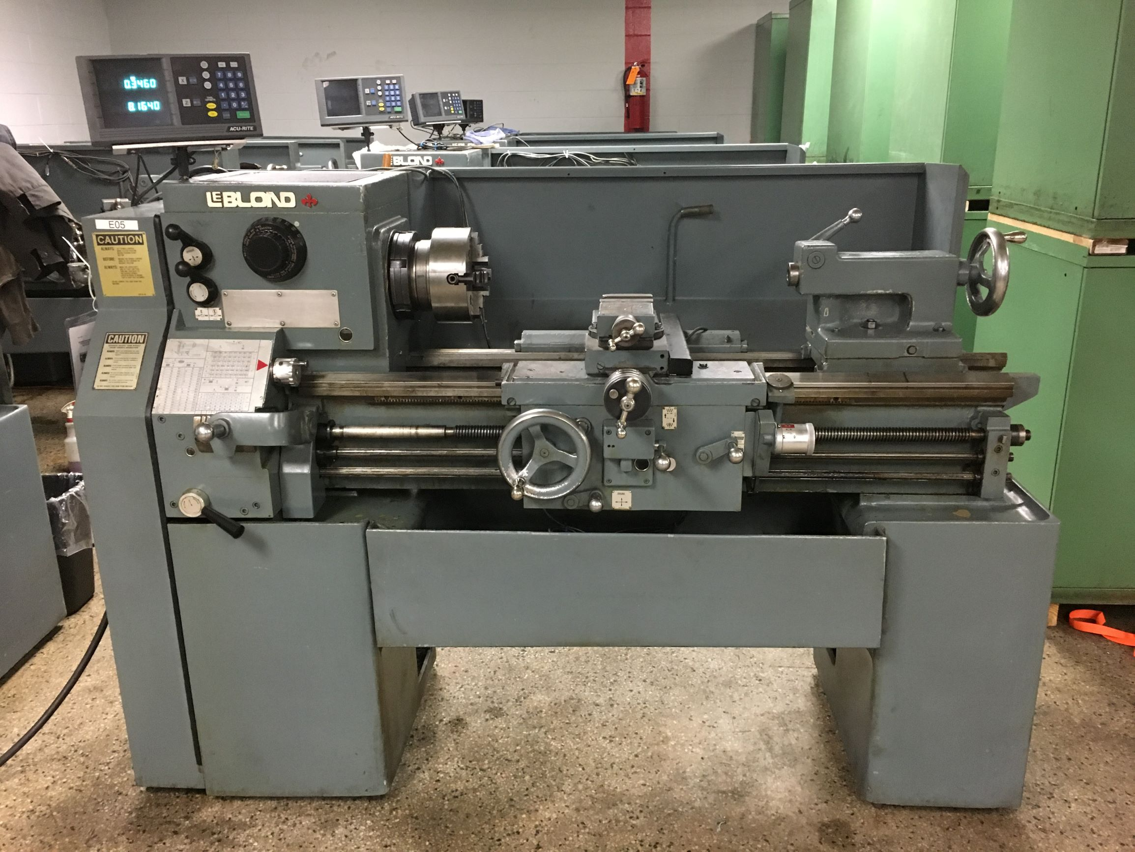 "15"" x 30"" LeBlond Regal Servo Shift Engine Lathe, S/N 12C-596/x3659."