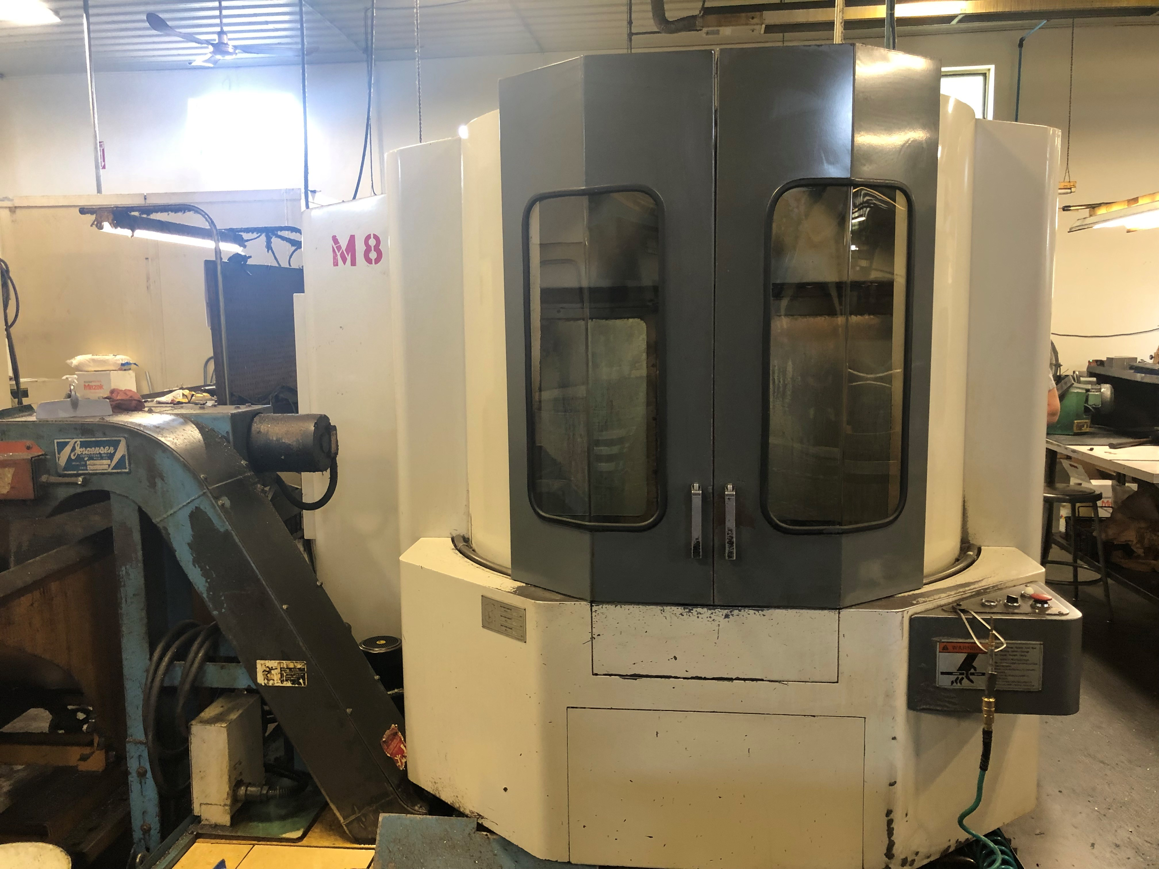 Mazak Model HTC400 Dual Pallet Horizontal Machining Center, New approx 1997.