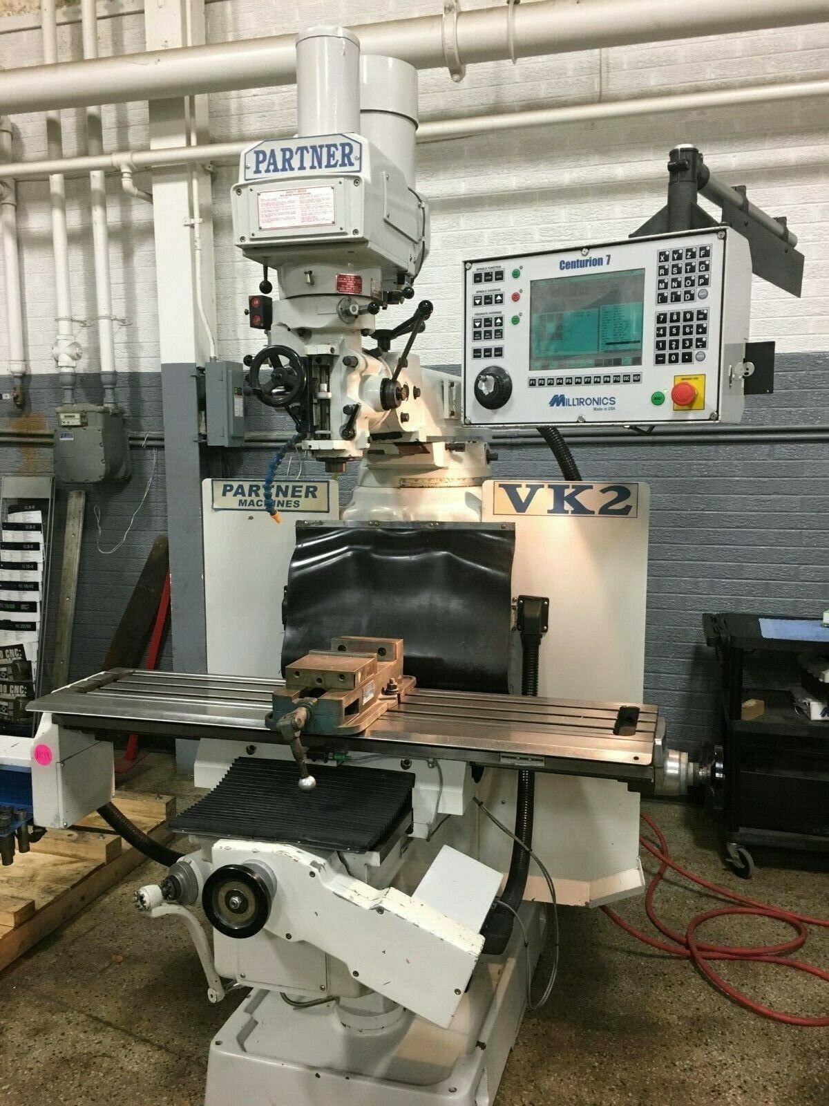 Milltronics Model VK2 CNC Vertical Mill, S/N 9268, New 2006.