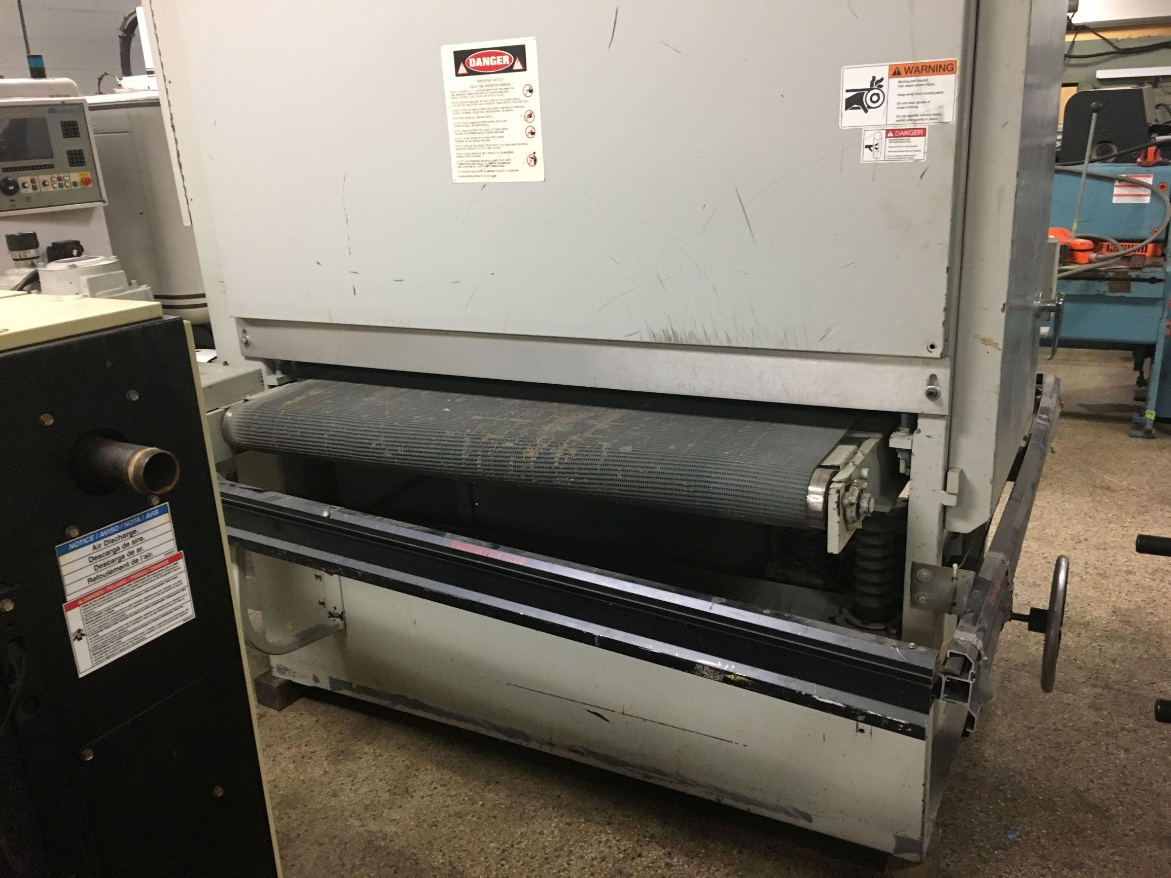 Timesaver Finishing Machine Sander, Model 252-1WW, S/N 25552T