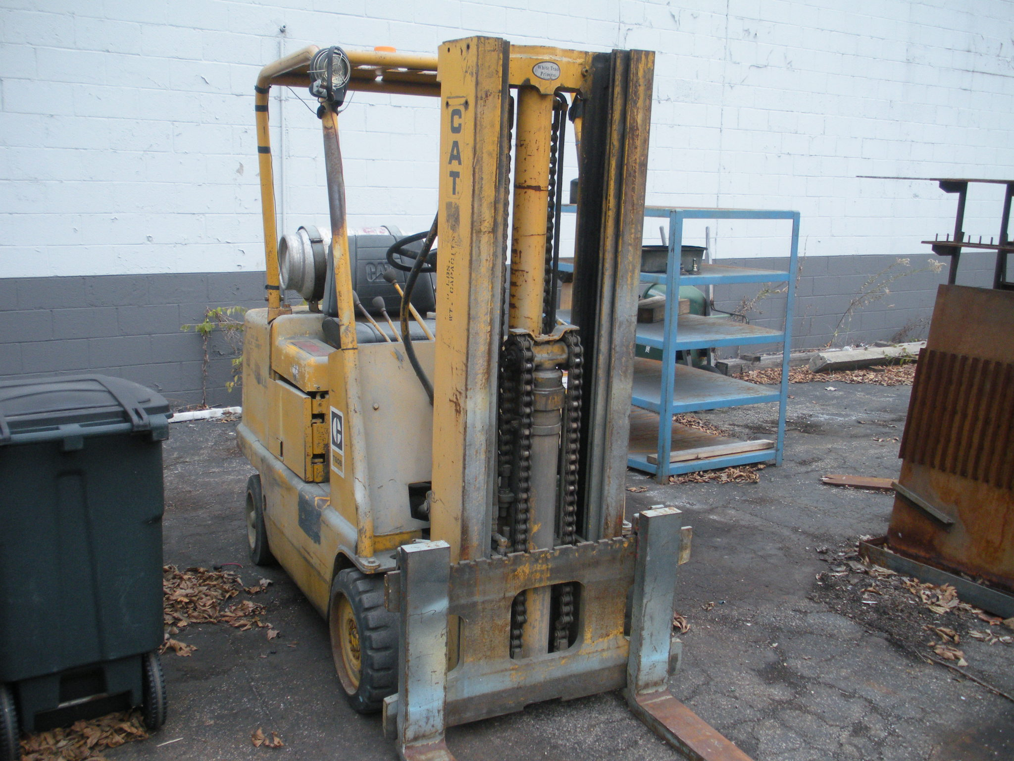 Caterpillar Model T60B 6,000# Forklift, S/N 12N2900