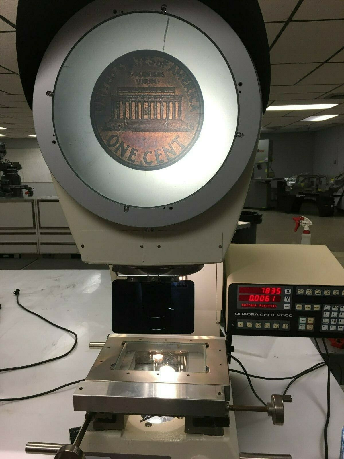 "12"" Nikon Model V-12BS Bench Top Comparator / Profile Projector, S/N 1300348."