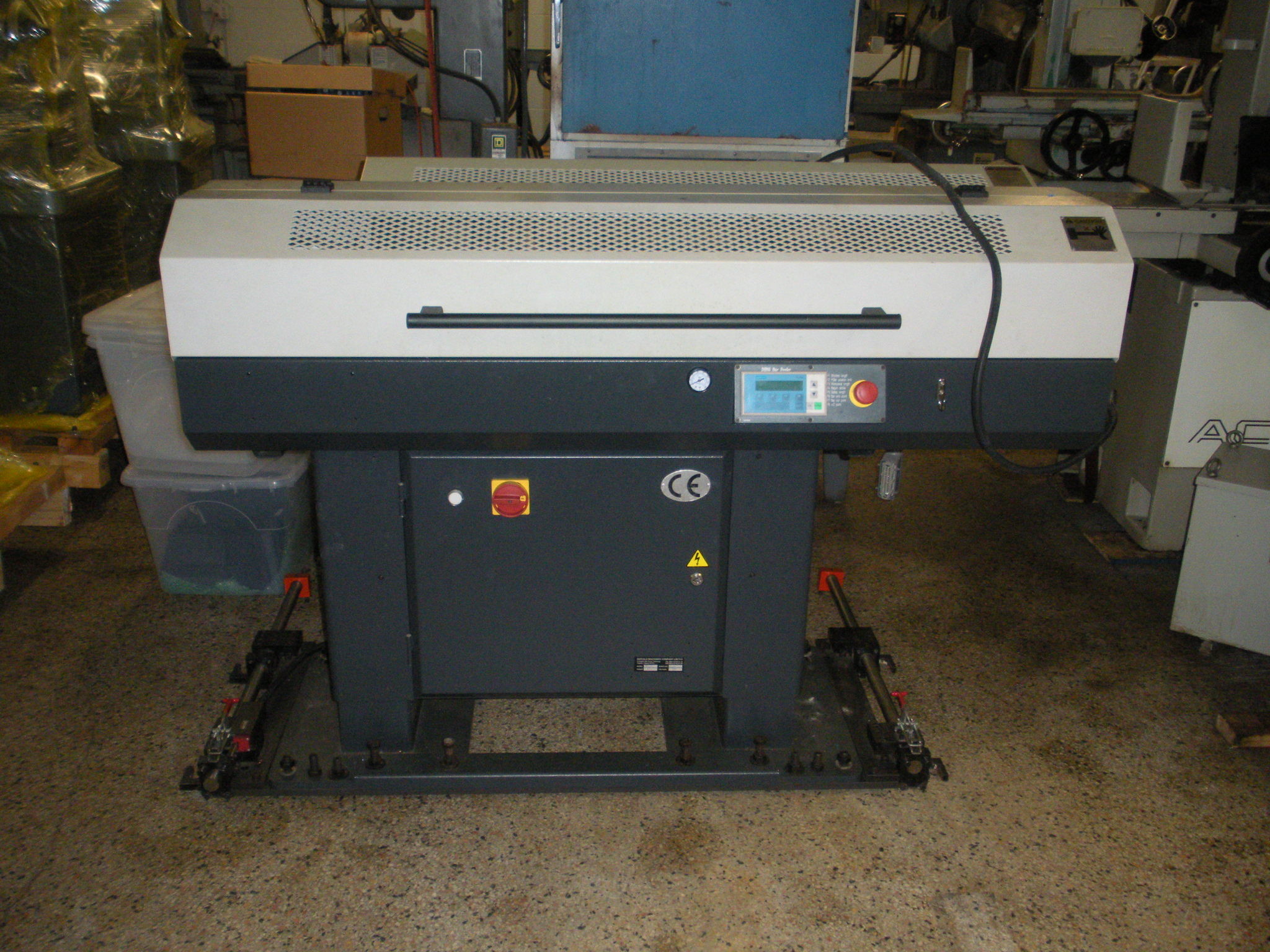 MTA DH65 Automatic Bar Feeder System