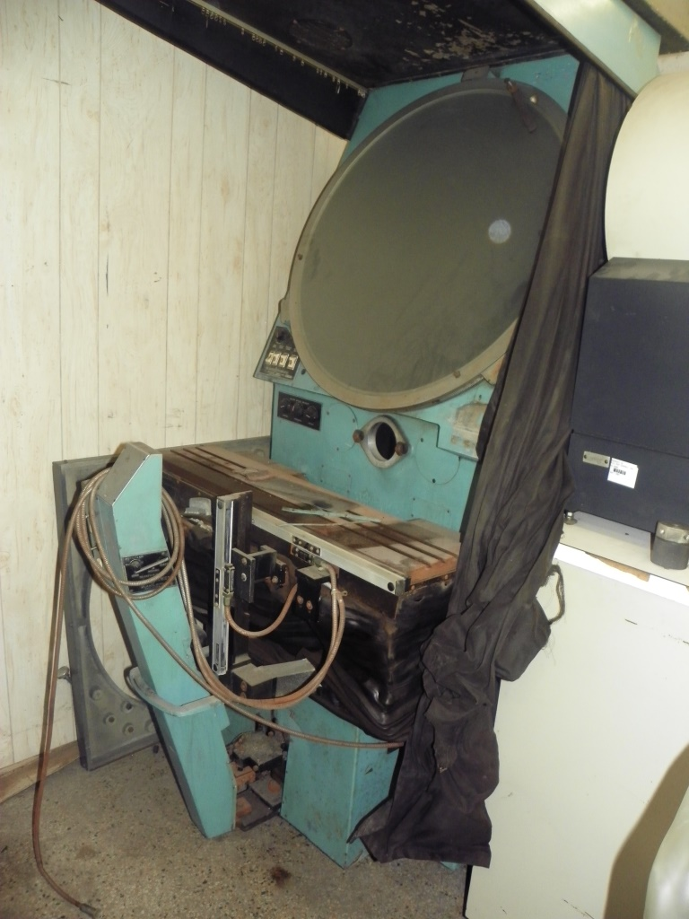 """ST Industries 30"""" Optical Comparator , S/N 474."""