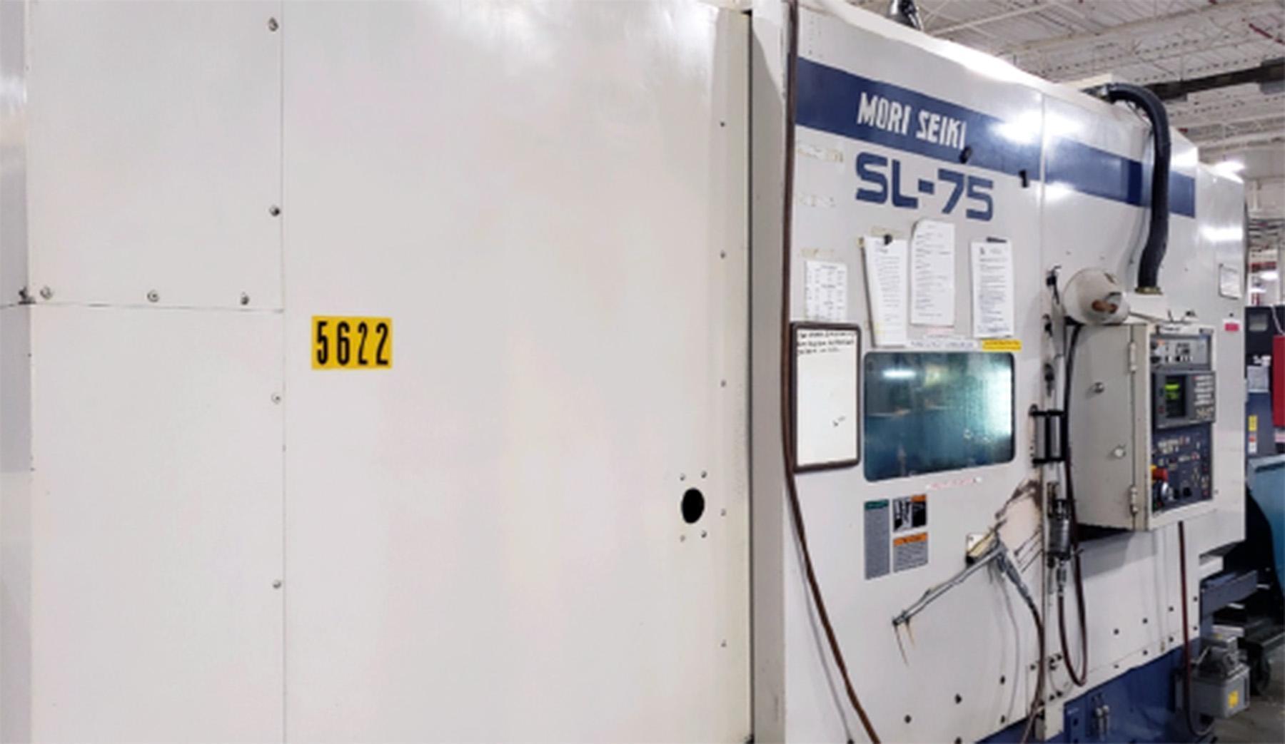USED, MORI SEIKI SL-75B CNC LATHE