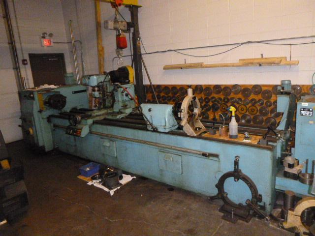 """20"""" x 124"""" WMW Heckert Model ZFWVG 250-NX3150 Thread Milling and Spline Hobbing Machine"""