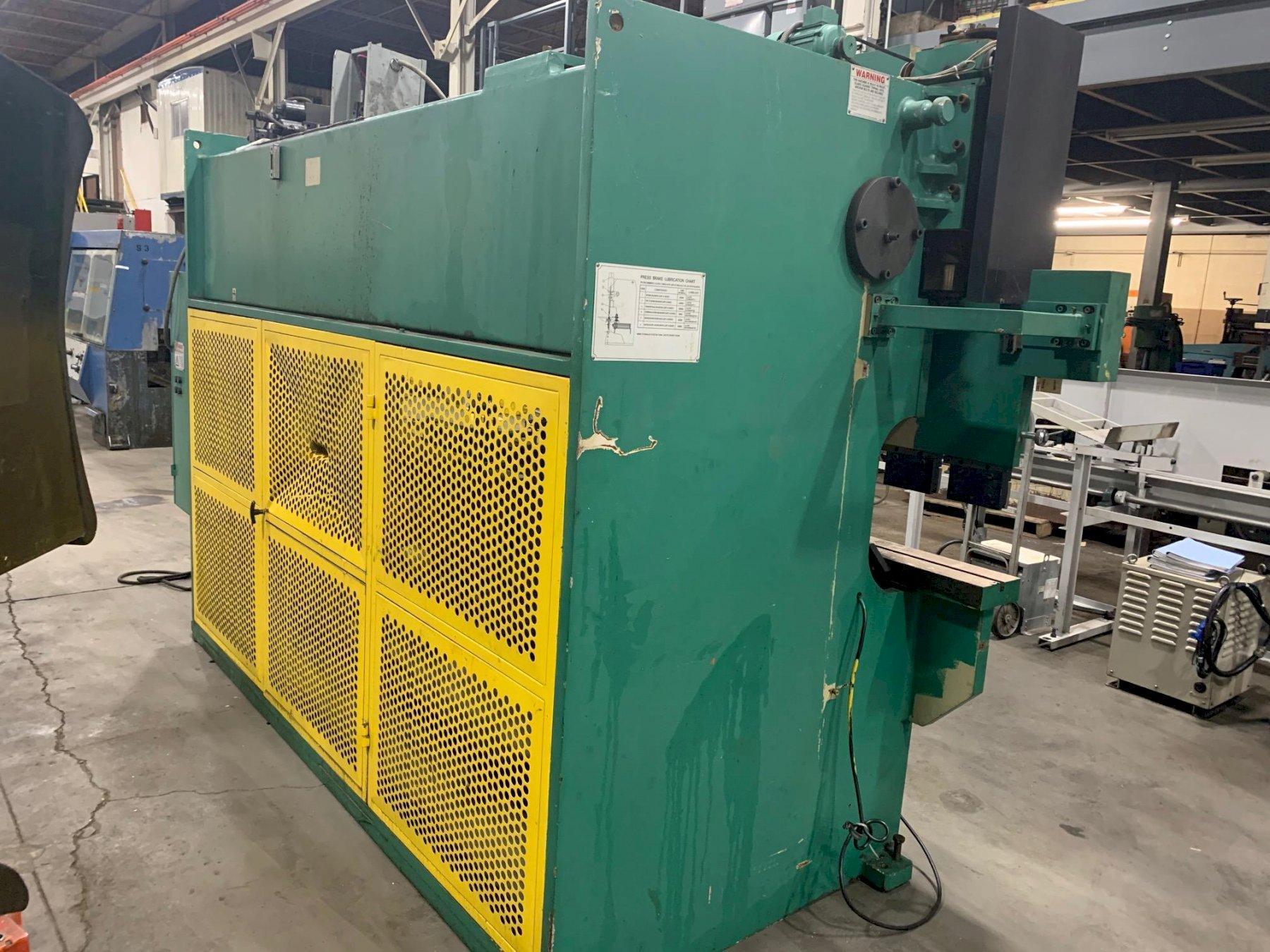USED U.S. INDUSTRIAL 88 TON X 10' HYDRAULIC 2-AXIS CNC PRESS BRAKE, Year 2004, Stock #10703