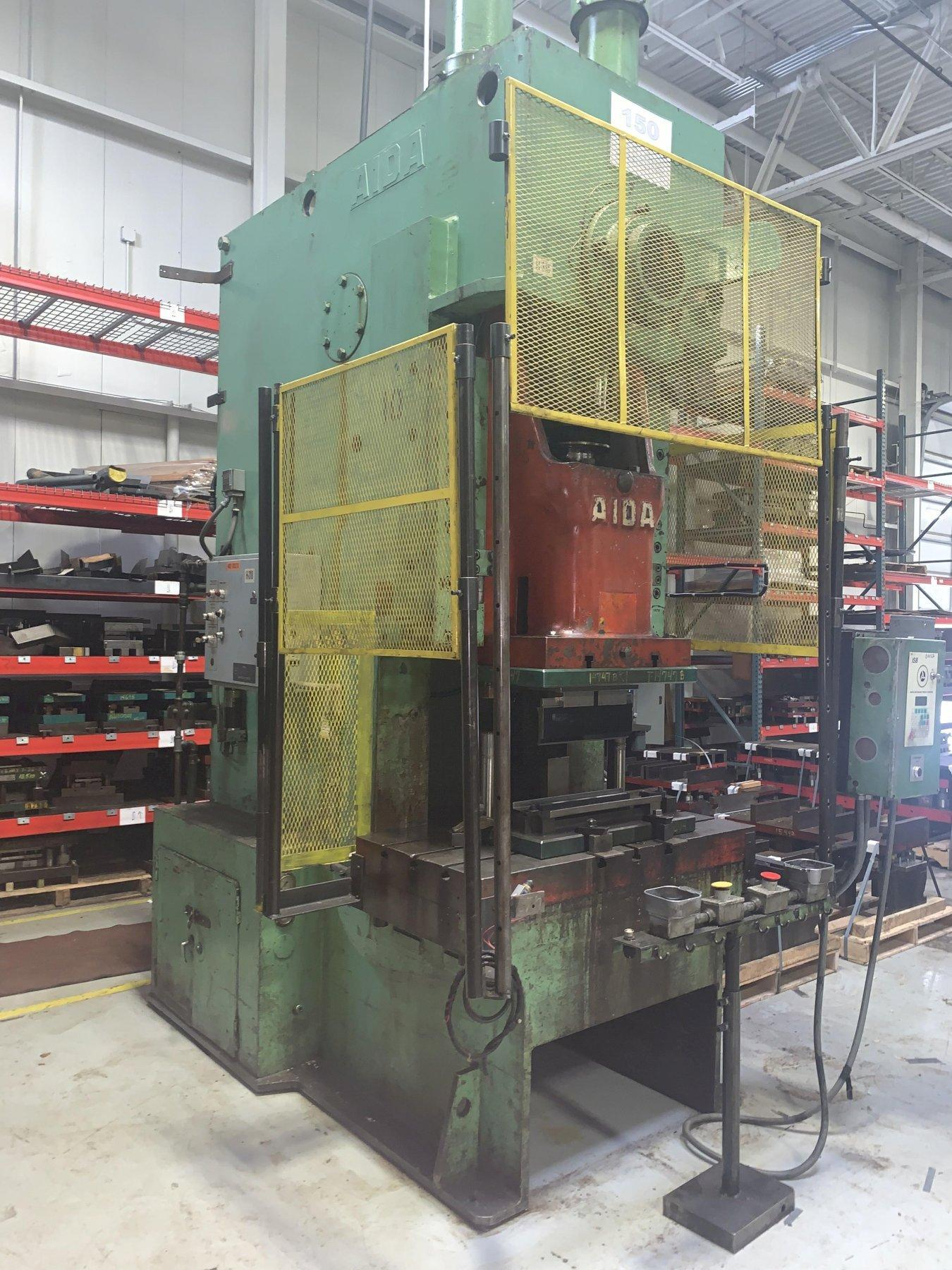 150 TON AIDA MODEL PC-15-II GAP FRAME PRESS: STOCK #11869