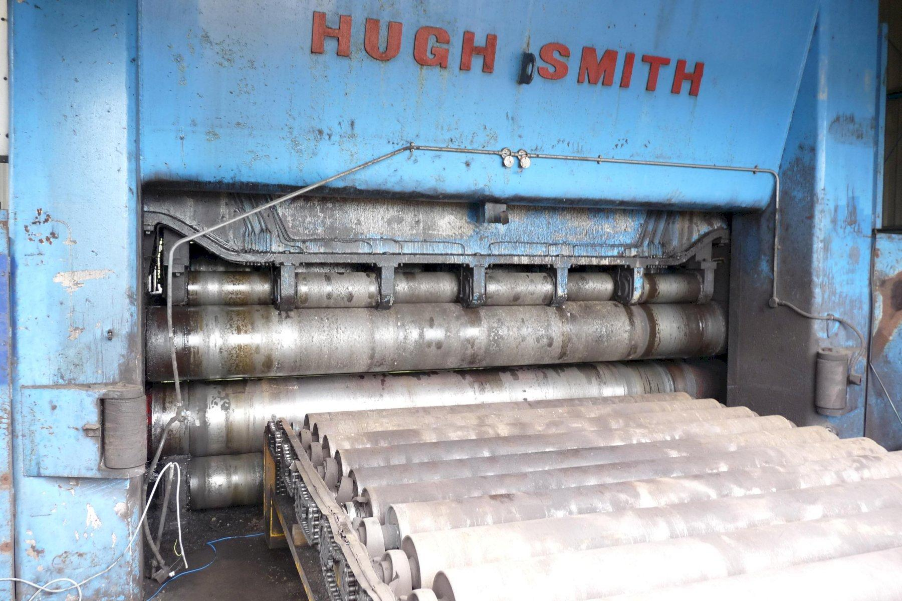 """157"""" (4000mm)  x 2.3"""" (60mm) Hugh Smith Hydrolevel Backed Up Plate Straightener"""
