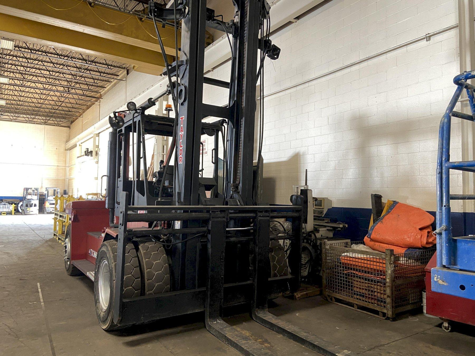 Taylor TX-360L (Big Red) 36,000 LB Forklift, 135