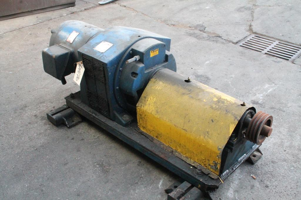 40 HP MOTOR WITH LOUIS ALLIS 50 TO 1705 RPM SPEED GEARBX: STOCK 64876