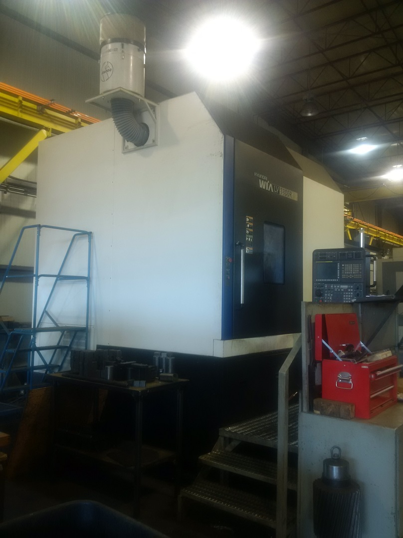 "HYUNDAI WIA CNC VERTICAL TURNING CENTER WITH 40"" CHUCK"