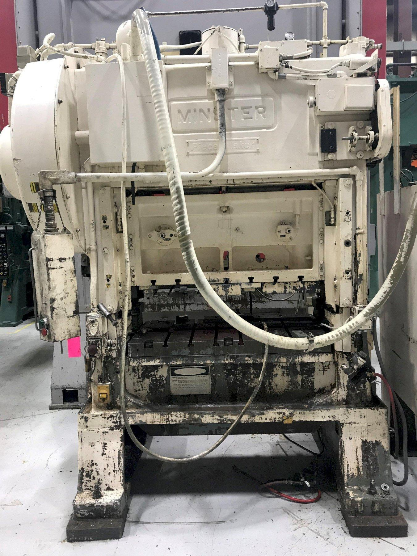 60 ton Minster P2-60-48 Piece-Maker Highspeed Press, New 1984