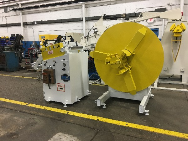 "(S) Coe Press Coil Reel And Straightener Combination 6,000 Lbs. x 18"" Wide x .125"""