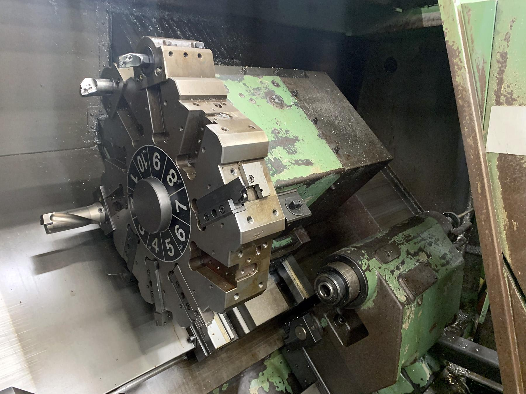 USED, MORI SEIKI SL-35B/750 CNC SLANT BED LATHE