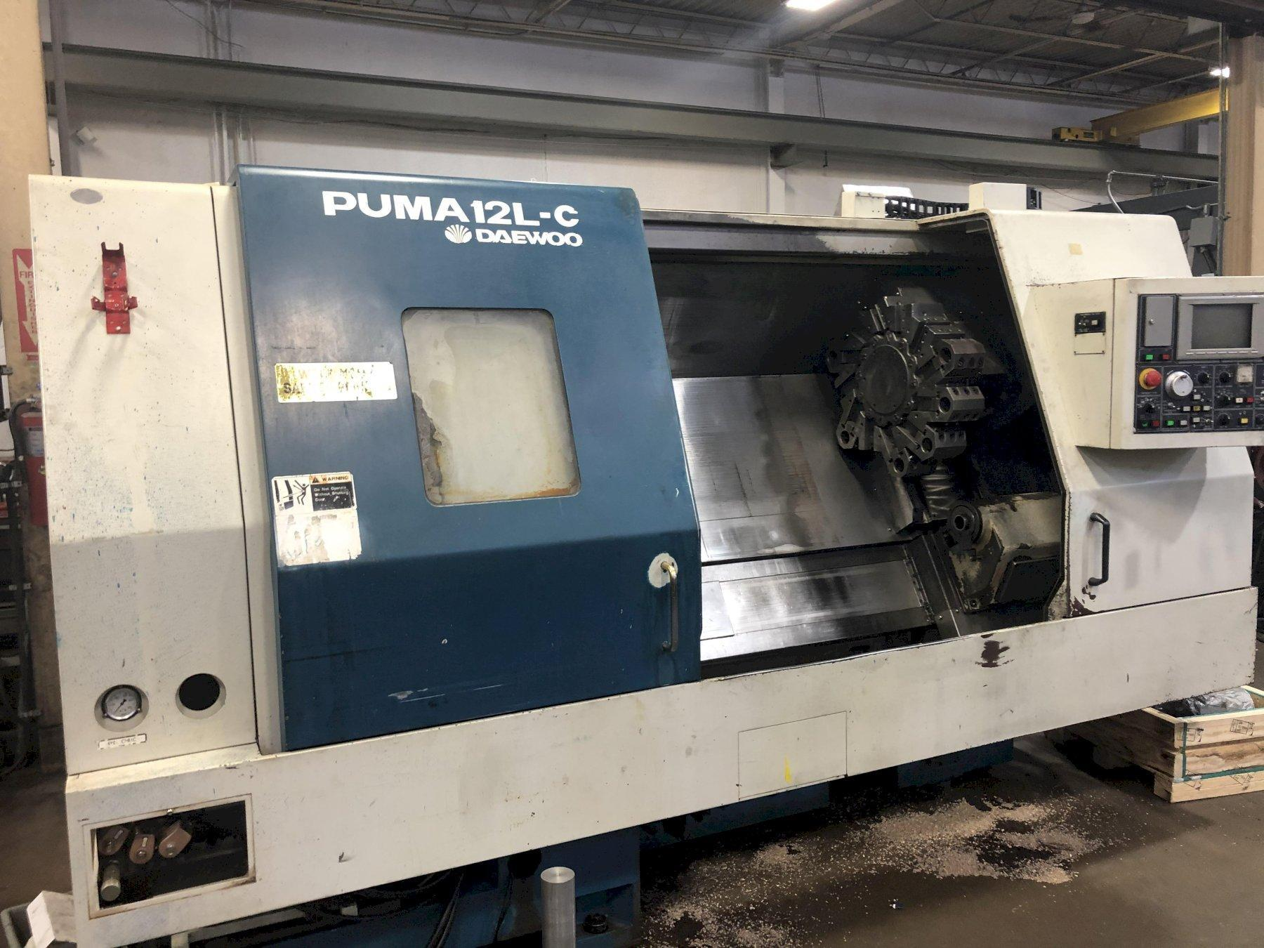 Daewoo Puma 12L-C CNC 2-Axis Turning Center