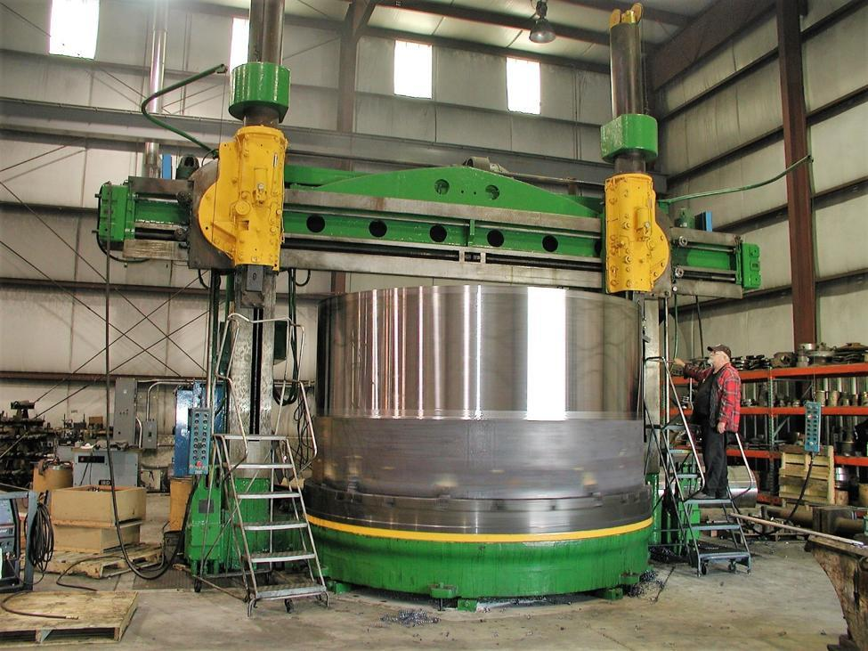 14' BETTS HEAVY DUTY VERTICAL BORING & TURNING MILL: STOCK 12553