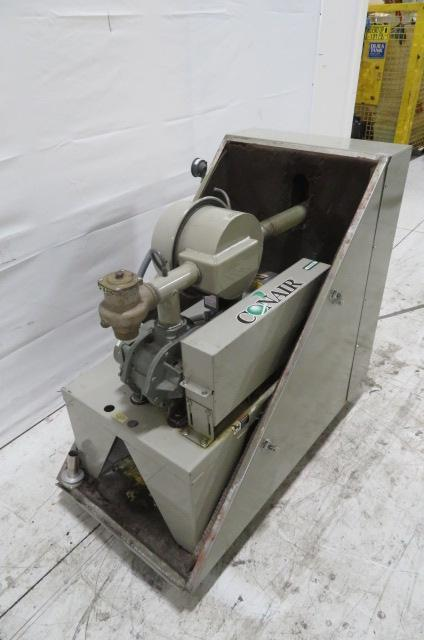 Conair Used PD3 Vacuum Pump, 3hp, 480V, Sound Enclosure