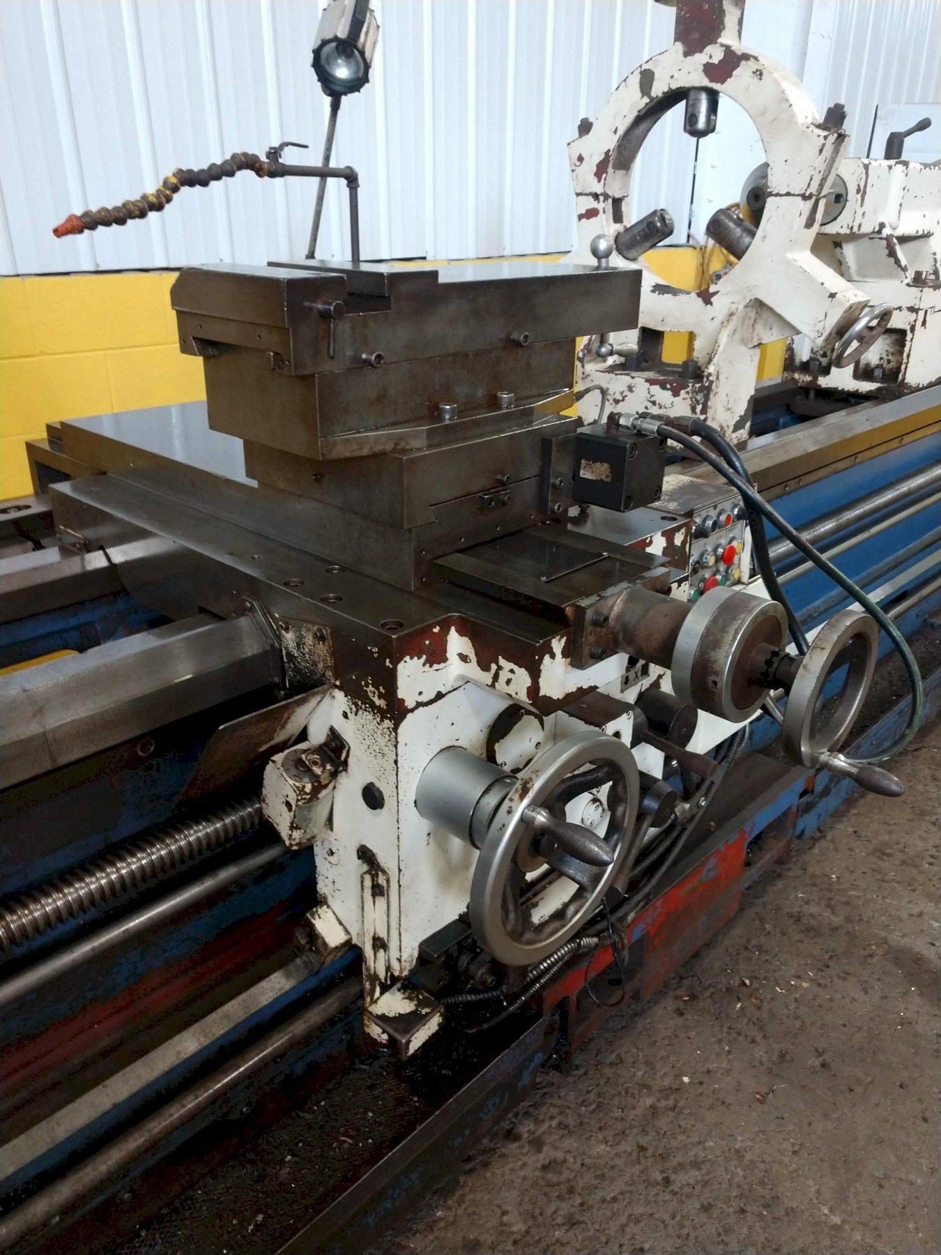 "42"" X 120"" SUMMIT 12"" HOLLOW SPINDLE MODEL 42-12X120 ENGINE LATHE"