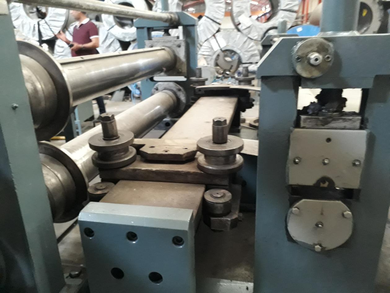 "63"" (1600mm) x 3mm Birlik Slitting Line"