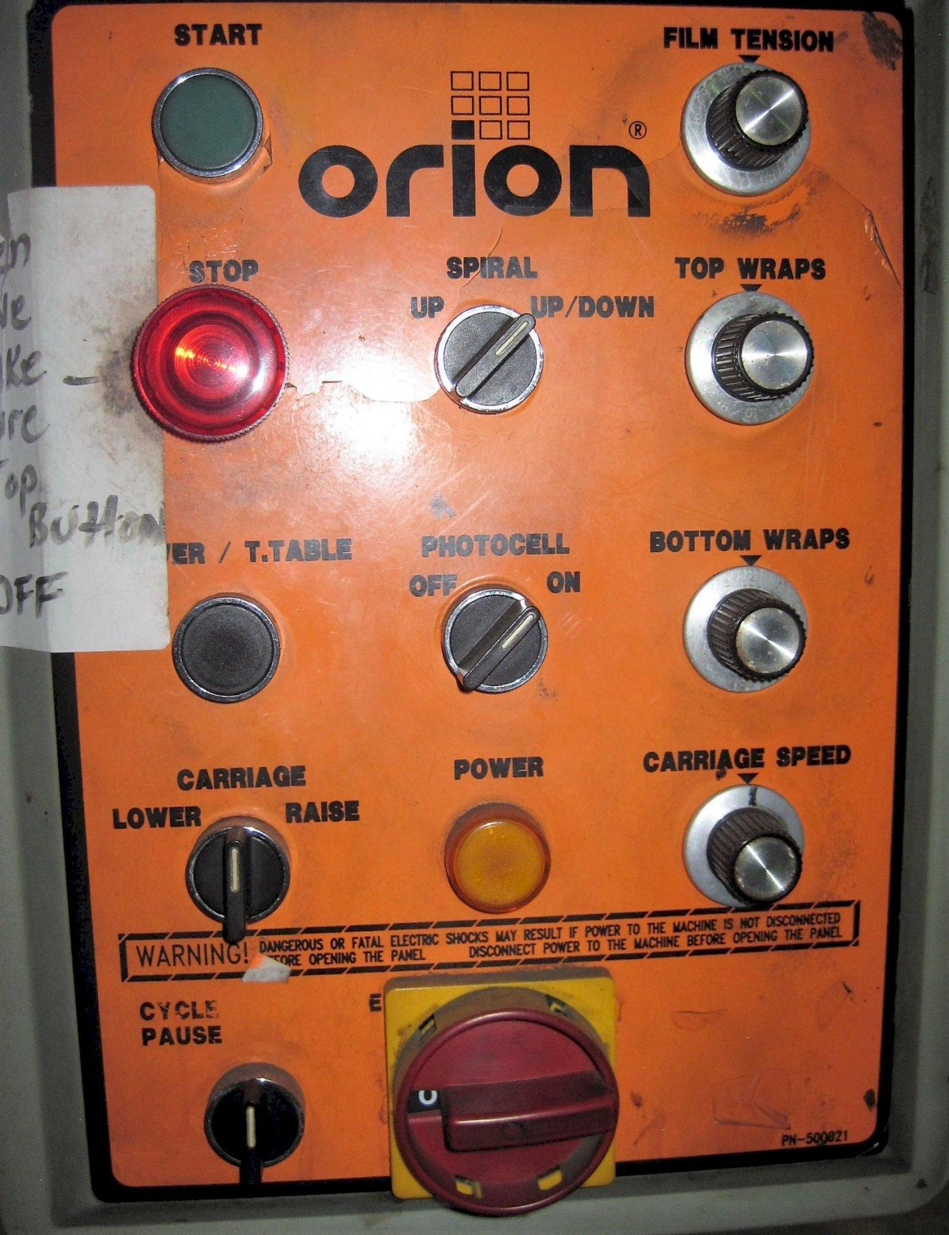 Orion Stretch Wrapping Machine