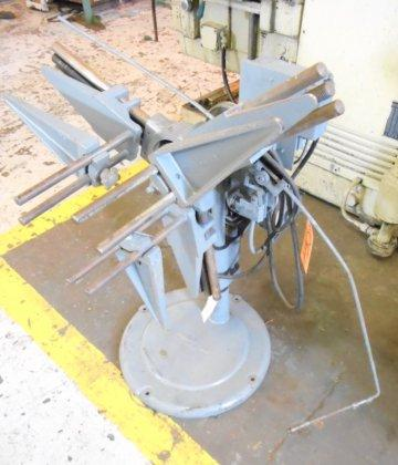 "600 LB DURANT DMSC-1 MOTORIZED, 10"" WIDE, 6""-24"" ID, 44"" OD, 25 RPM, 1/4 HP, 1980, LOW PRICE, (10141) #10164"