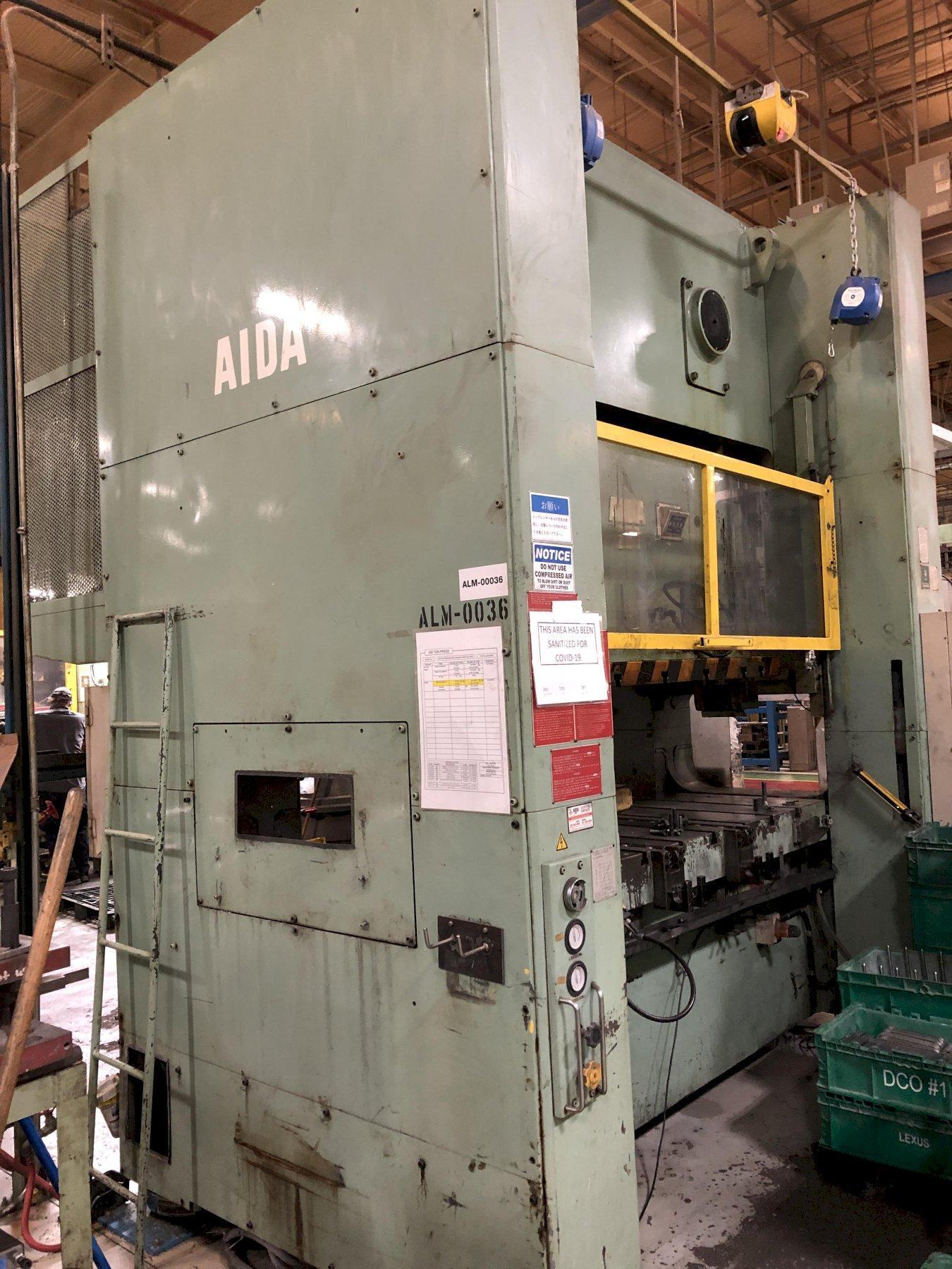 220 Ton Aida SSDC Press