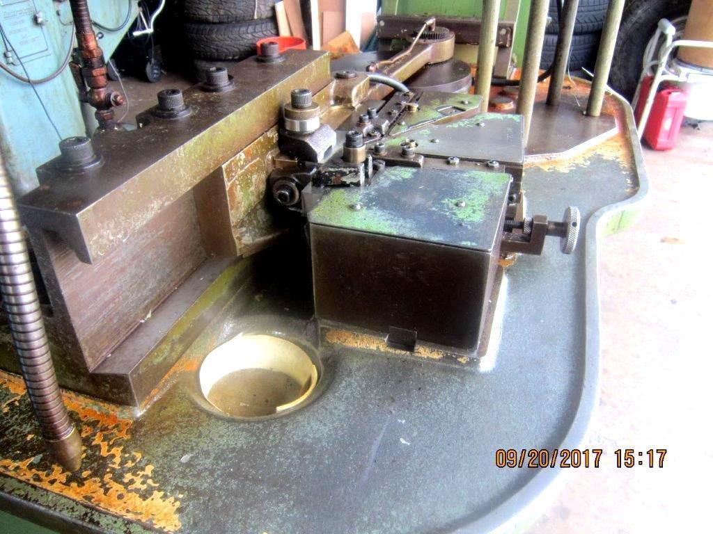 "3/16"" Hartford A-190-M #0 Hand Feed  Flat Die Thread Roller"