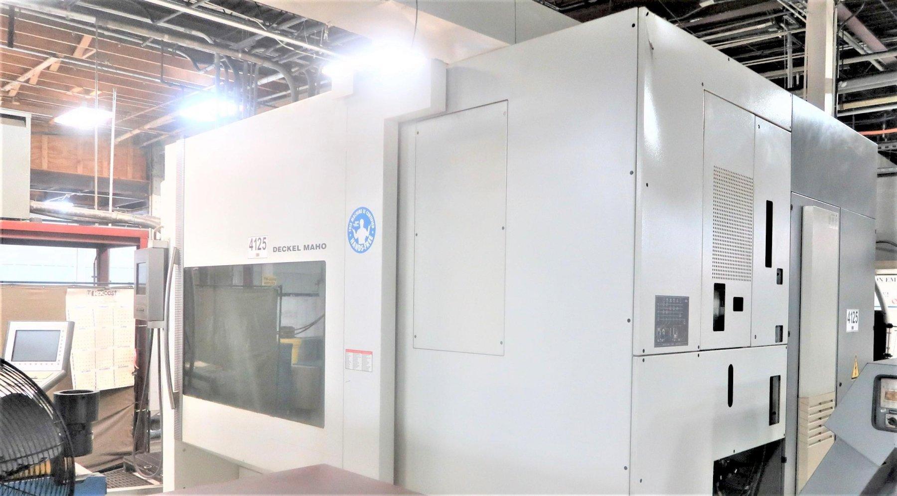DECKEL MAHO DMC 125U 5-AXIS CNC HORIZONTAL MACHINING CENTER