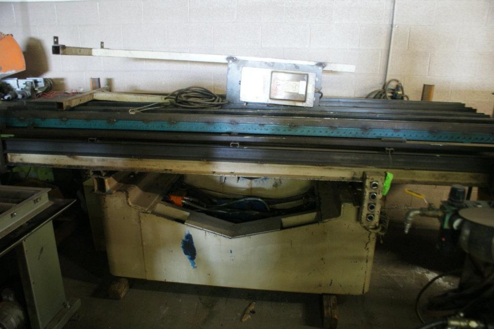 USED ROWE MANUFACTURING MECHANICAL LIFT TABLE, Model BGY-16, 16,000 lbs, Stock No. 9889