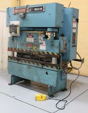 55 Ton x 6 ft. Niagara Hydraulic Press Brake Model HB-55-4-6