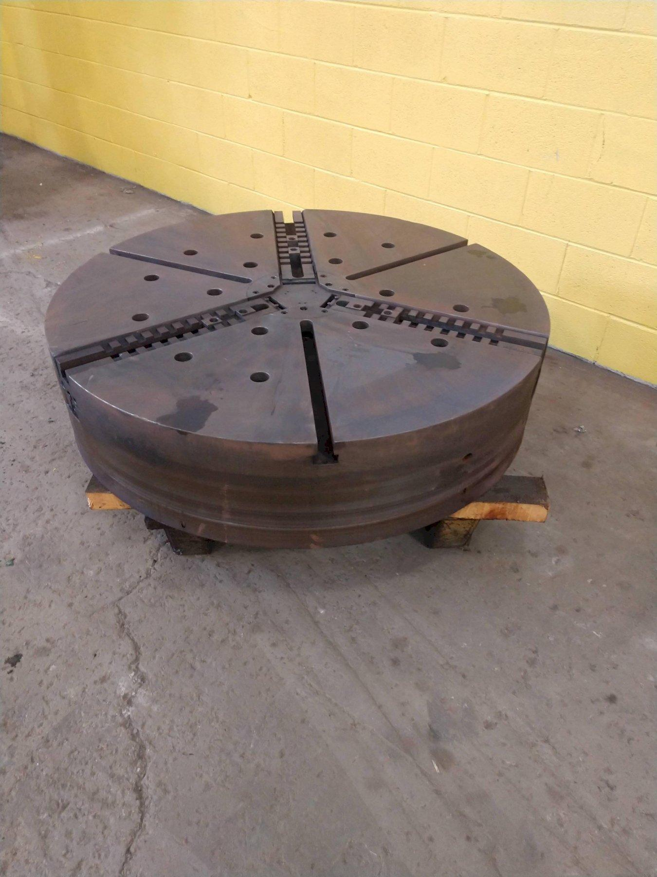 "48"" CUSHMAN 3-JAW CHUCK: STOCK #11120"