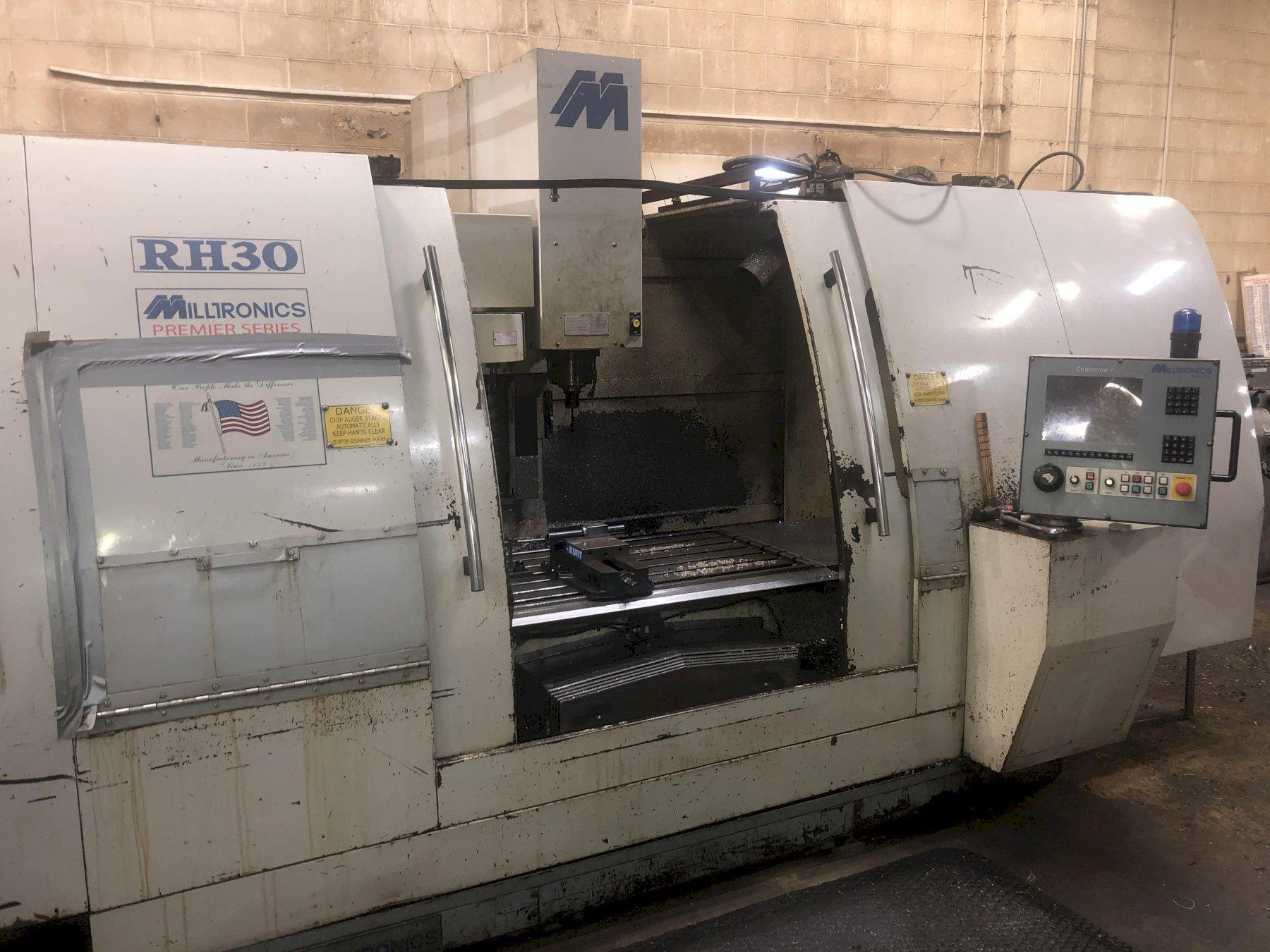 Milltronics Model RH30 CNC Vertical Machining Center, Serisal #8652, New 2005.