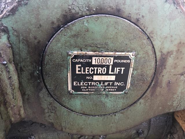 5 TON ELECTRO LIFT CRANE TROLLEY STOCK# 2203