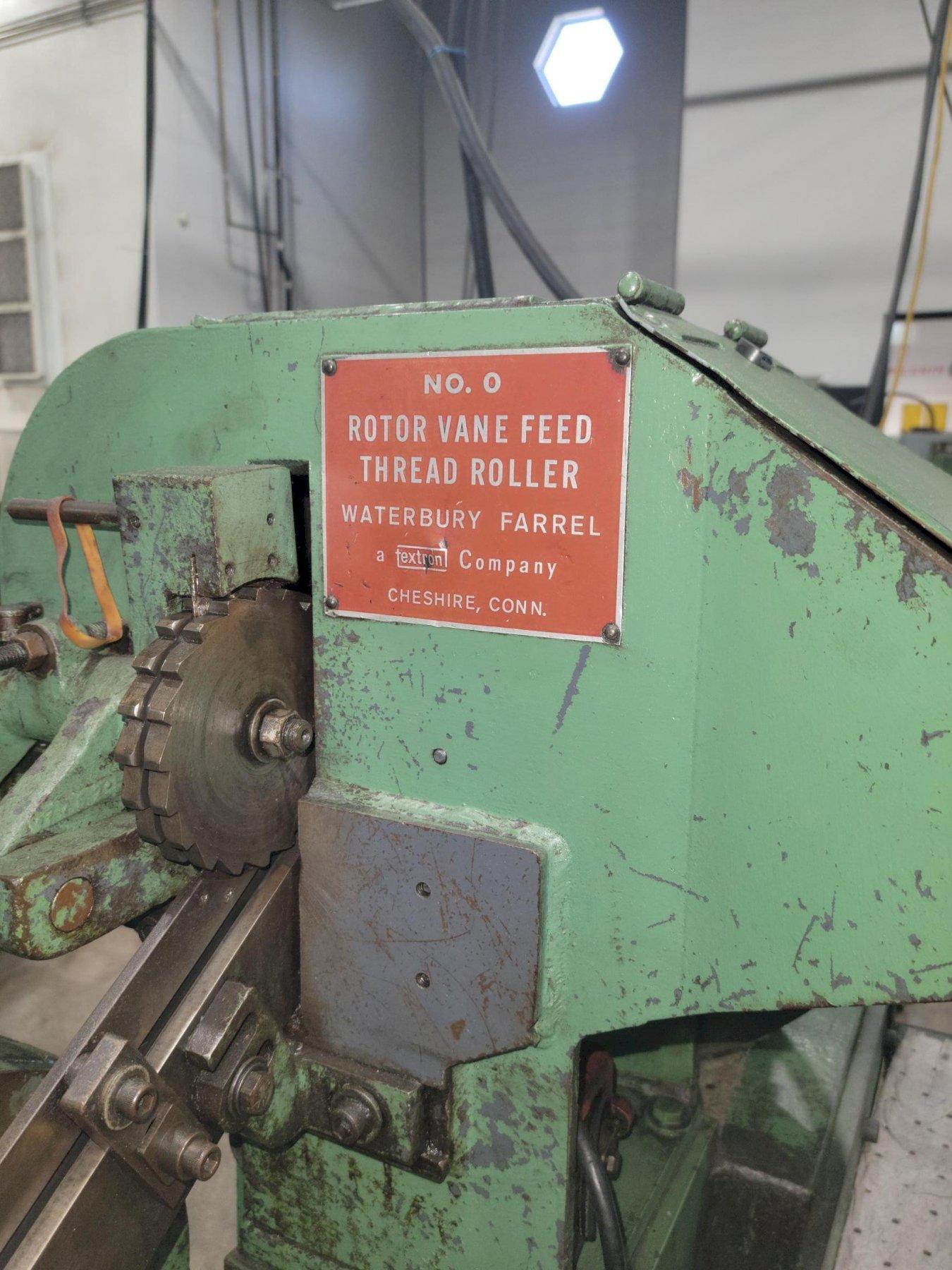 Waterbury Farrel Model 0 Heavy Frame Incline Thread Roller