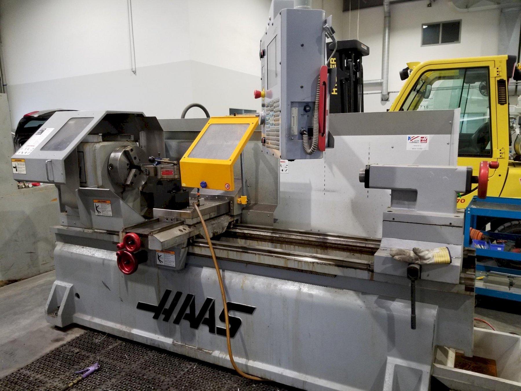 Haas TL3-W CNC Tool Room Lathe