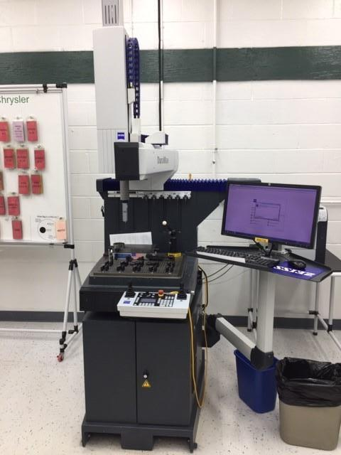 Zeiss Duramax 5/5/5 CMM, Vast XXT scanning probe head